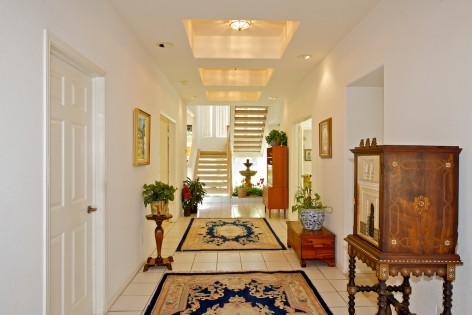 Captivating Foyer sets the stage for a grand entrance.