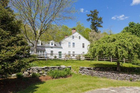 Actress Renee Zellweger's 1770 Connecticut farmhouse, at 96 Cotton Road in rural Pomfret Center, is on the market for $1.6 million